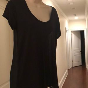 JUICY COUTURE BLACK SHORT SLEEVE SHIRT